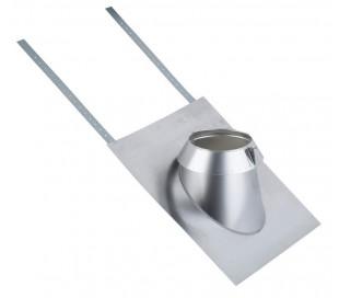 Solin inox tuile 15 à 30° Therminox pour poêle à bois