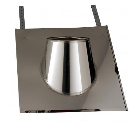 Solin inox ardoise INOX-INOX - Poêle à bois