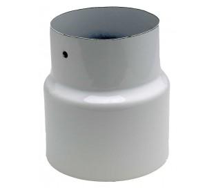 Manchette réduction blanc brillant TEN - Poêle à bois