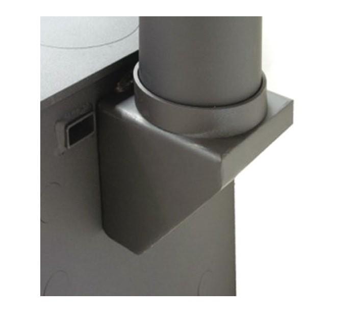 adaptateur arri re vertical pour po le charnwood. Black Bedroom Furniture Sets. Home Design Ideas