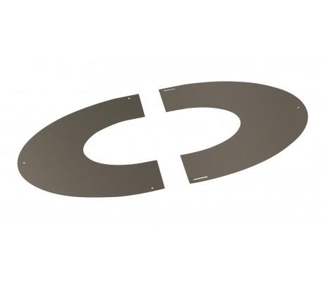 Plaque de propreté INOX-INOX - Poêle à bois