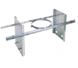Collier de soutien réhaussé INOX-INOX - Poêle à bois