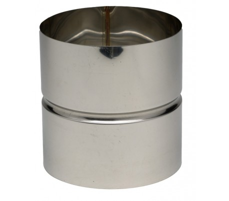 Manchette Femelle/Femelle Inox 304 TEN - Poêle à bois