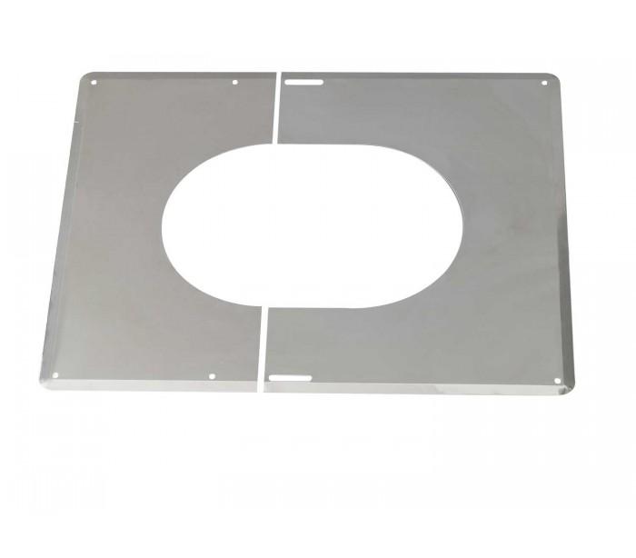 plaque de finition inox ten duoten pour pg comptoir du po le. Black Bedroom Furniture Sets. Home Design Ideas