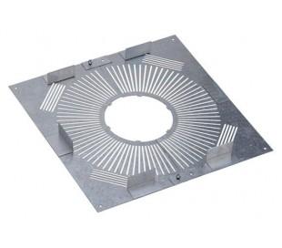 Plaque distance de sécurité PGI pour poêle à granulés - Poujoulat