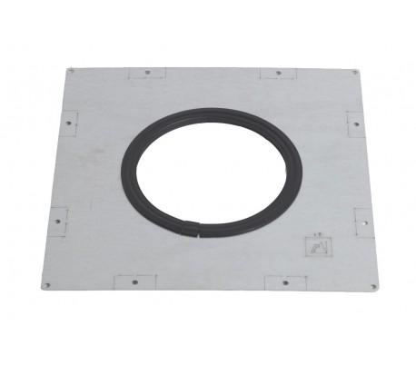 Plaque de plancher étanche + joint Duoten - Poêle à granulés