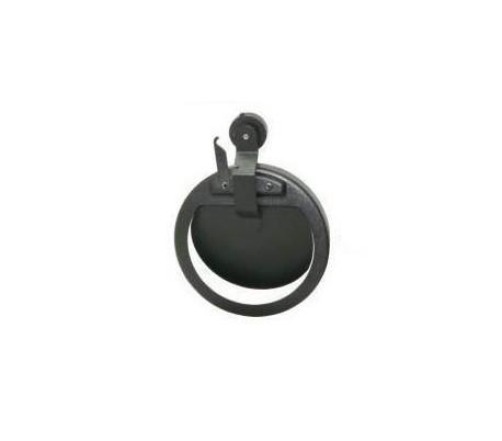 Régulateur de tirage noir mat TEN - Poêle à bois