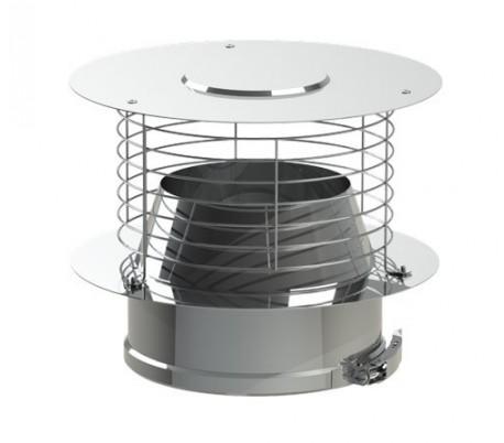 Chapeau aspirateur Varinox Duoten - Poêle à bois