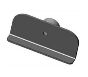 Support arrière déflecteur 5700-00-B pour poêle Ravelli