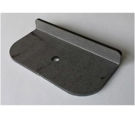 Support arrière déflecteur 5700-00-104 pour poêle Ravelli