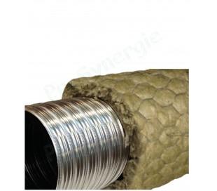 Tubage flexible double inox Ten LISS Pré-isolé / Poêle à granule