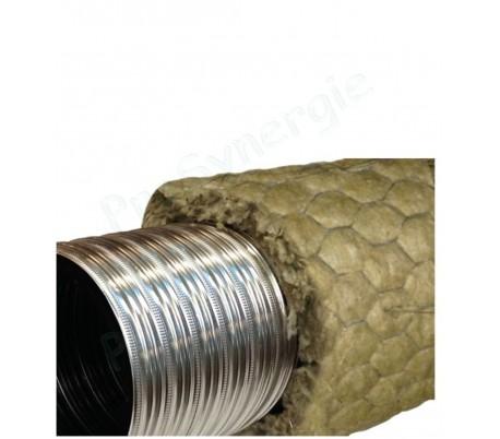 Tubage flexible double inox Ten LISS Pré-isolé / Poêle à bois