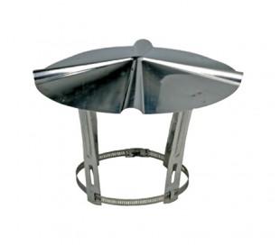 Chapeau inox Ten - Poêle à granulés