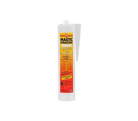 Mastic réfractaire 1100°C Noir