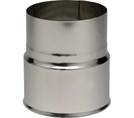 Réduction inox pour tubage flexible Ten - Poêle à bois