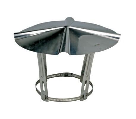 Chapeau inox Ten - Poêle à bois