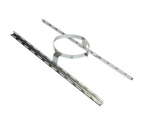 Collier de soutien INOX-INOX - Poêle à bois