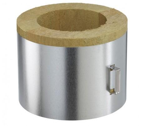 Coquille isolante pour plafond plat INOX-INOX -Poêle à bois