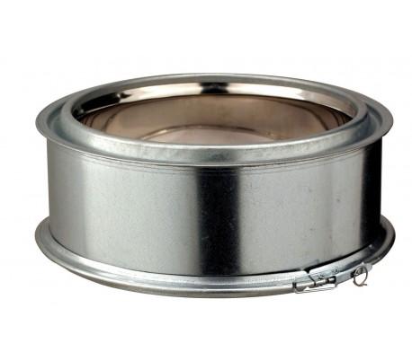 Elément droit 10 cm INOX-GALVA - Poêle à bois