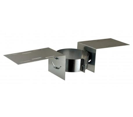 Support au toit INOX-INOX - Poêle à bois