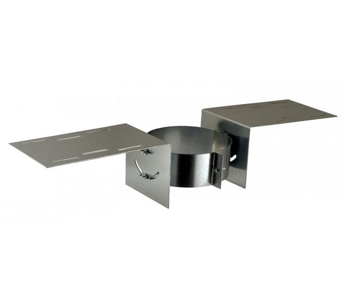 support au toit galva inox inox pour po le bois comptoir du po le. Black Bedroom Furniture Sets. Home Design Ideas
