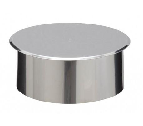 Tampon obturation pour cône de finition INOX-INOX - Poêle à bois