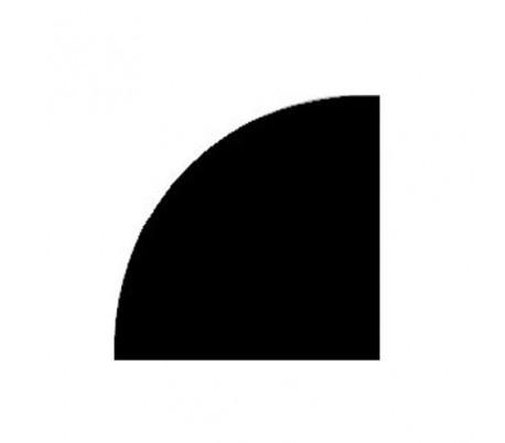 Plaque de protection sol 1/4 de cercle