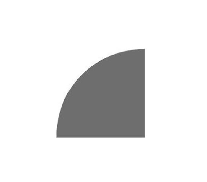 plaque de sol 1 4 cercle comptoir du po le. Black Bedroom Furniture Sets. Home Design Ideas