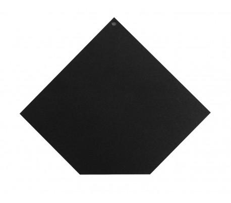 Plaque de sol angle coupé