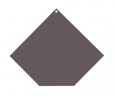 Plaque de protection sol Angle coupé