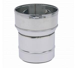 Raccord poêle-tubage inox TEN - Poêle à granulés