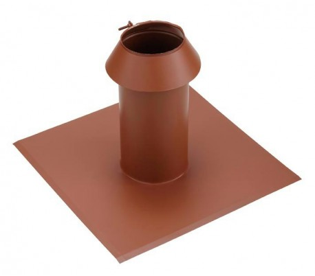 Solin toit plat PGI pour poêle à granulés - Poujoulat