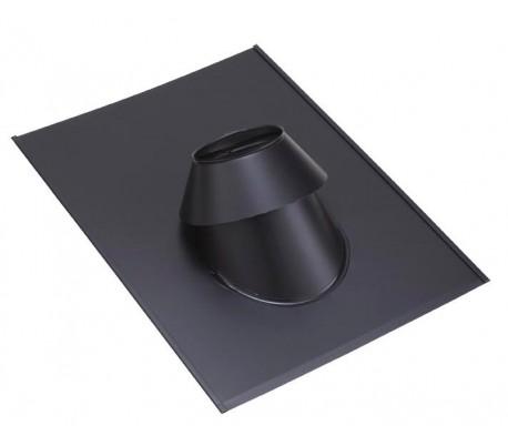 Solin peint pour toit ardoise PGI pour poêle à granulés - Poujoulat