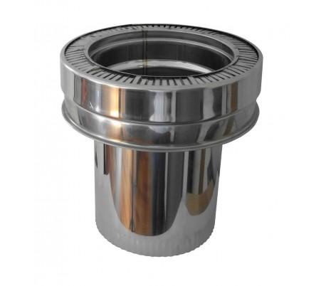 Réduction conique simple/double paroi Therminox - Poêle à granulés