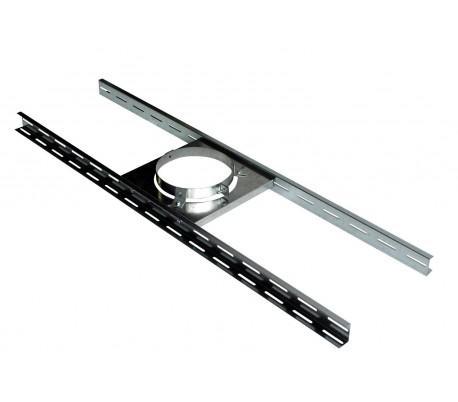 Support plancher inox Therminox - Poêle à granulés
